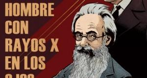 """""""Valle-Inclán y el insólito caso del hombre con Rayos X en los ojos"""" editado por La Felguera. Sello de identidad"""
