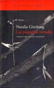 Lectura y Locura | Pequeñas virtudes de Natalia Ginzburg